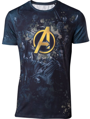AVENGERS INFINITY WAR Team Sublimation