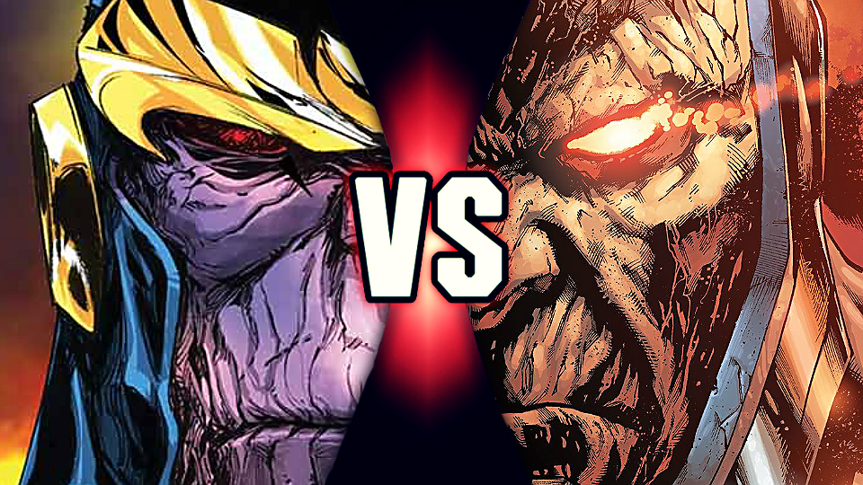 Ekvivalenty postav #001: Thanos vs. Darkseid