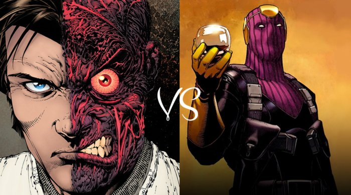 Ekvivalenty postav #002: Baron Zemo vs. Two-Face.