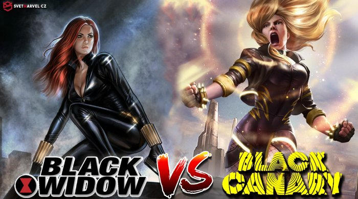 Black Widow vs. Black Canary
