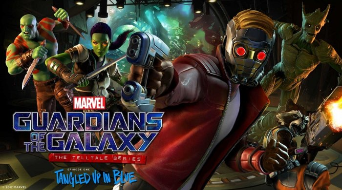 Svět Marvel na Twitchi - Guardians of the Galaxy: The Telltale Series