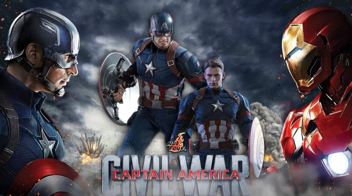Dee's Collector's World #9: Captain America - 1/6