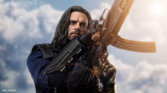 Dee's Collector's World #17: Bucky Barnes: Infinity war -1/6